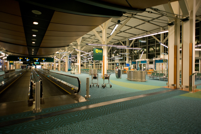 departure gates at vancouver international airport